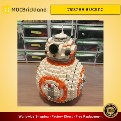 Star Wars MOC-11416 75187 BB-8 UCS RC by Sariel MOCBRICKLAND