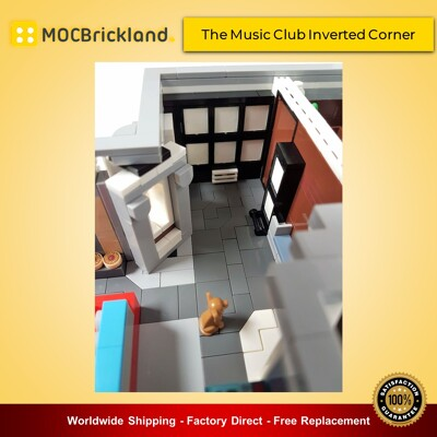 Modular buildings moc-15858 the music club inverted corner by huaojozu mocbrickland