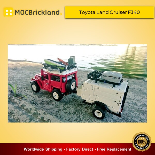 Technic moc-2770 toyota land cruiser fj40 hard top expedition by rm8 lego garage - brickgarage mocbrickland