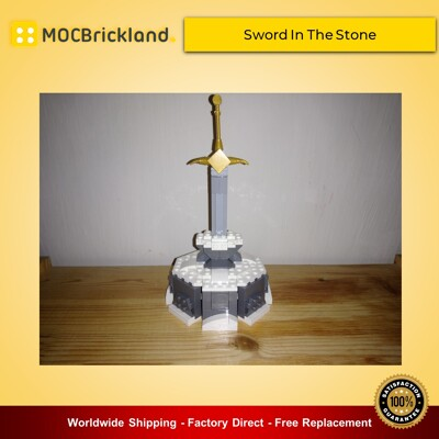 Movie moc-15120 custom lego sword in the stone disney by buildbetterbricks mocbrickland