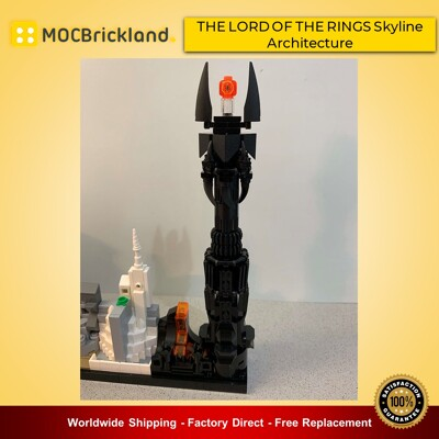 Movie moc-20513 the l0rd of the rings skyline architecture by momatteo79 mocbrickland