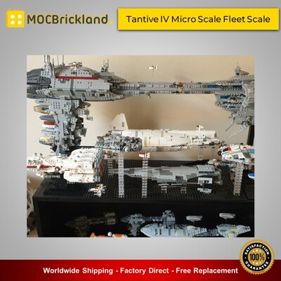 Star wars moc-36695 tantive iv micro scale fleet scale by 2bricksofficial mocbrickland