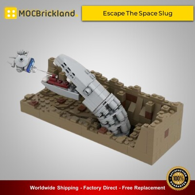 Star Wars MOC-42513 Escape The Space Slug-Nano Falcon-Episode V By 6211 MOCBRICKLAND