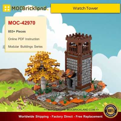 Creator MOC-42970 Watch Tower By gabizon MOCBRICKLAND