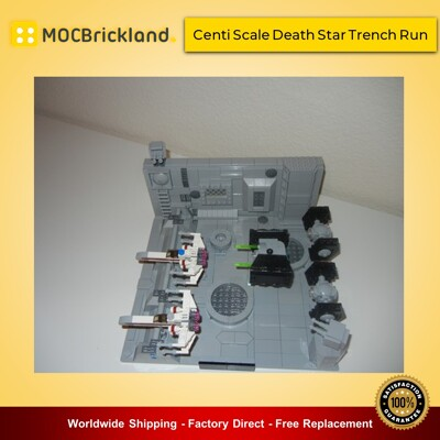 Star wars moc-9741 centi scale death star trench run by whovian41110 mocbrickland