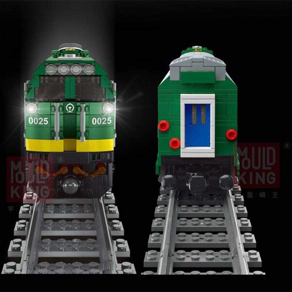 Technic mouldking 12001 rc nj2 diesel locomotives
