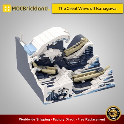 Creator moc-90029 the great wave off kanagawa