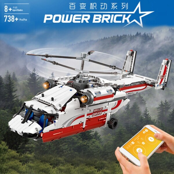 Technic mouldking 15012 rc airplane