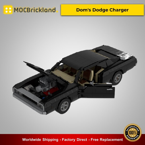 Technic moc-38752 dom's dodge charger by jeka_jackson mocbrickland