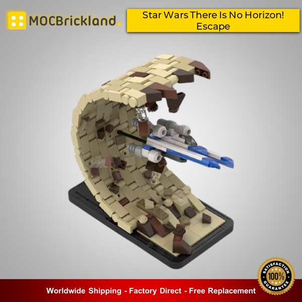 Star wars moc-48198 star wars there is no horizon! Escape by 6211 mocbrickland