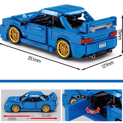 Technic sy 8408 subaru 22b sti version