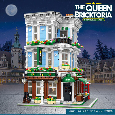 Modular Buildings URGE 10197 The Queen Bricktopia