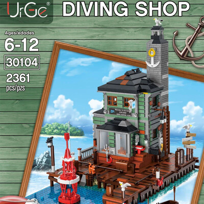 Modular Buildings URGE 30104 Diving Shop