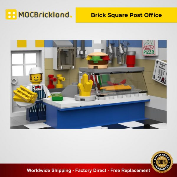 Moc 22101 brick square post office. Pptx 600x600 1 lepin™ land shop