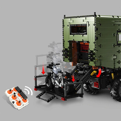 Technic lej j907 mercedes-benz unimog rc