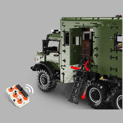 Lej j907 mercedes benz unimog 4 lepin™ land shop