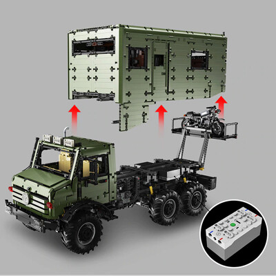 Lej j907 mercedes benz unimog 6 lepin™ land shop