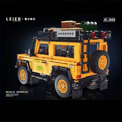 Technic LEJ J908 Land Rover Defender Off-road Car