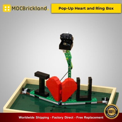 Valentine moc-22083 pop-up heart and ring box by jkbrickworks mocbrickland