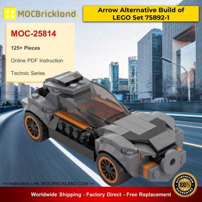 Technic MOC-25814 Arrow Alternative Build of LEGO Set 75892-1 By Lego Dark Side MOCBRICKLAND