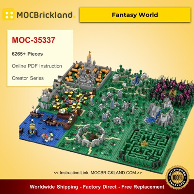 Creator MOC-35337 Fantasy World By gabizon MOCBRICKLAND
