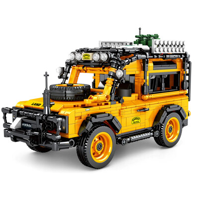 Technic SY 8551 Landrover Defender 90 off-road pull back car