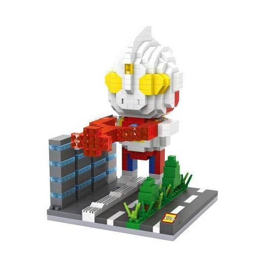LOZ Ultraman Tiga Alien