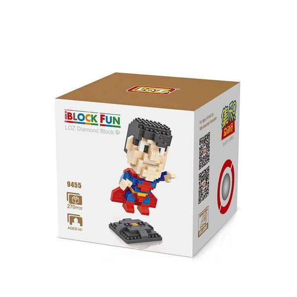LOZ 9455 Superhero Superman