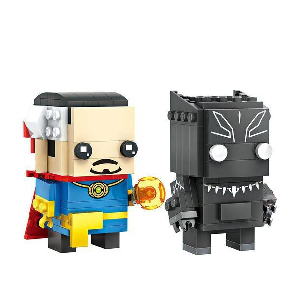 LOZ 1704 Doctor Strange and Black Panther