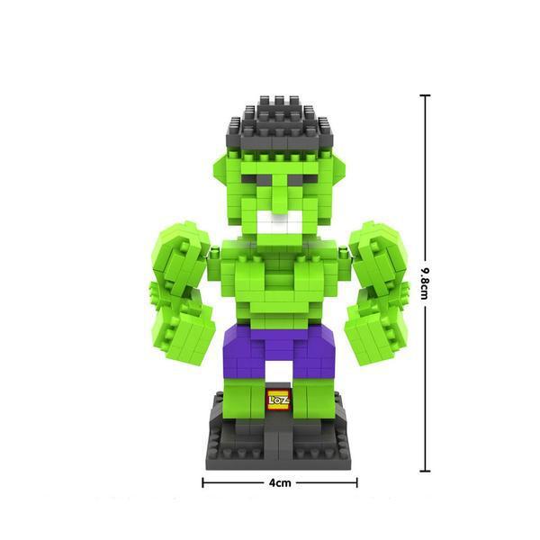 LOZ 9451 Superhero Hulk