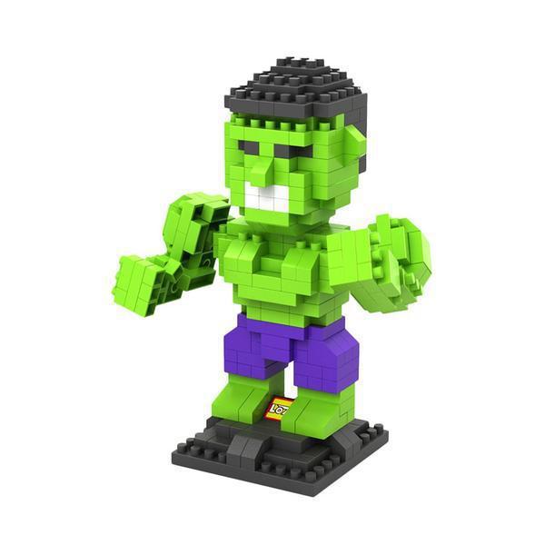 LOZ Superhero Hulk