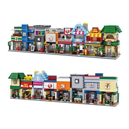 LOZ 1601-1608 Mini Street