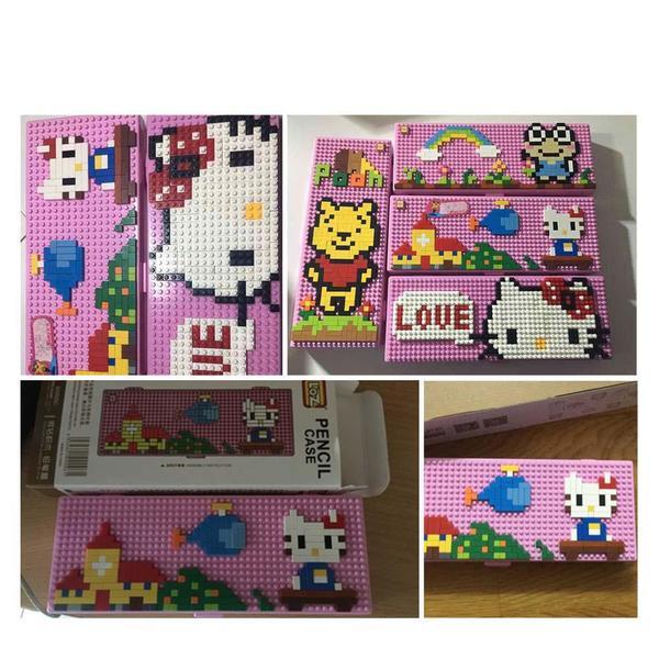 LOZ 9096-2 Pen Case Hello Kitty