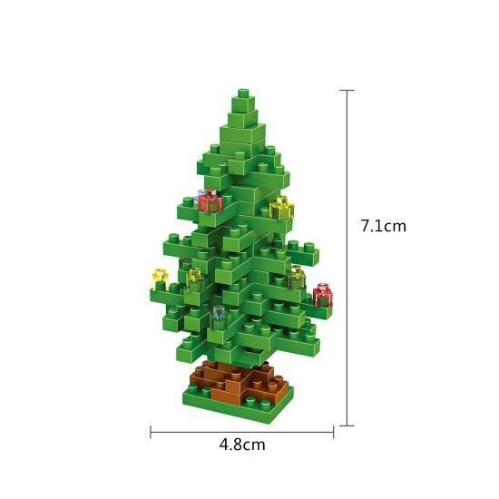 LOZ 9123 Christmas Tree