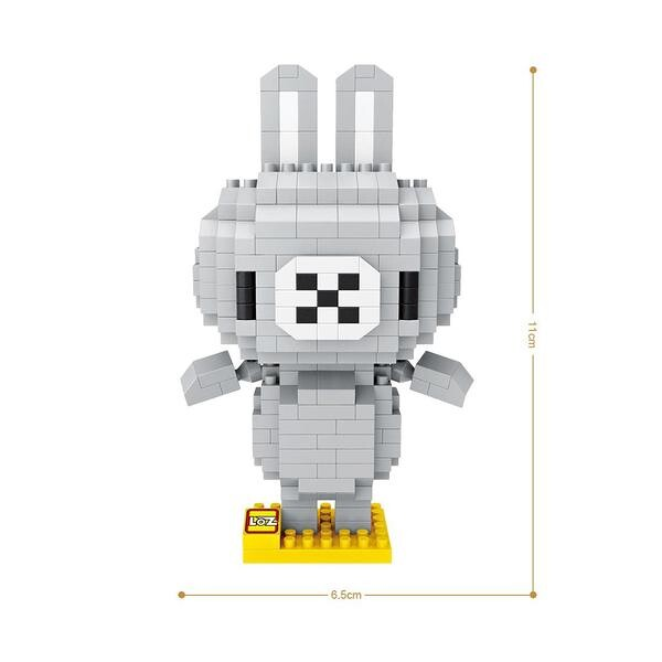 LOZ 9563 Grey Bunny