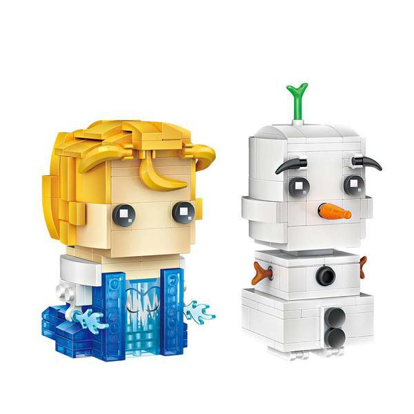 LOZ Brickheadz Frozen Elsa and Olaf