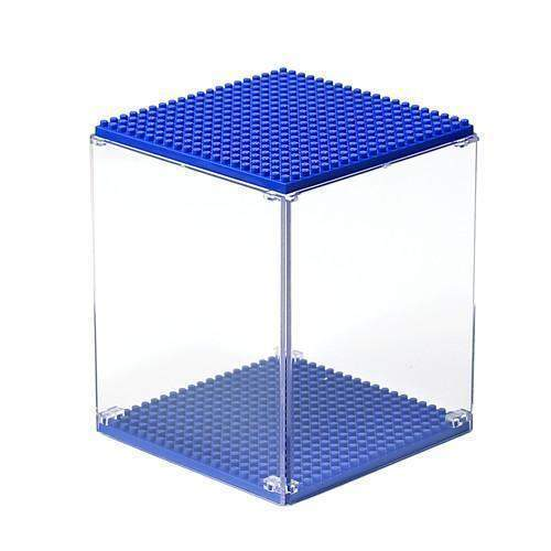 LOZ Display Case Dark Blue