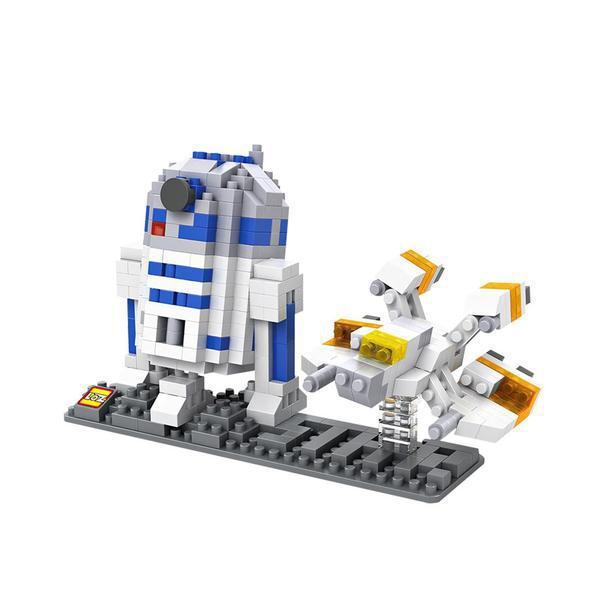Star Wars ~ R2-D2 ~ LNO block set ~ Mini Building Set ~Gift Series NIB