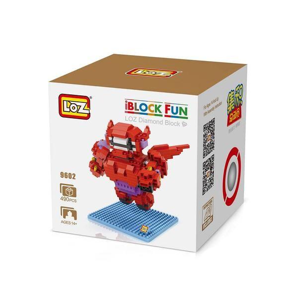 LOZ 9602 Big Hero 6 Baymax