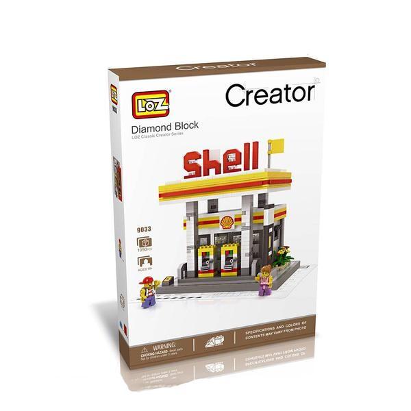 LOZ 9033 Large Shell Gas Station