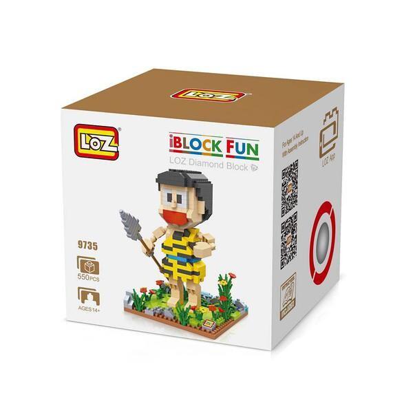 LOZ 9735 Doraemon Yellow Spear Nobita