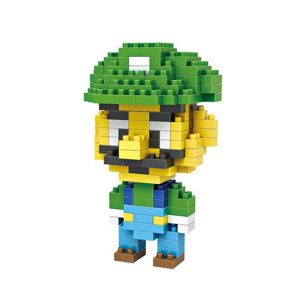 LOZ 9126 Super Mario Luigi