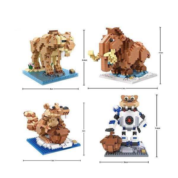 LOZ 9730-9733 Ice Age Bundle