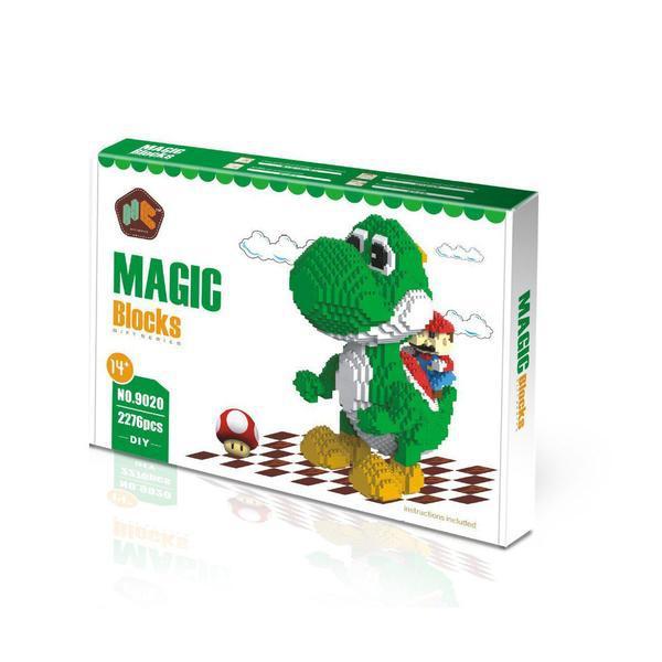 Magic Blocks 9020 Super Mario Yoshi