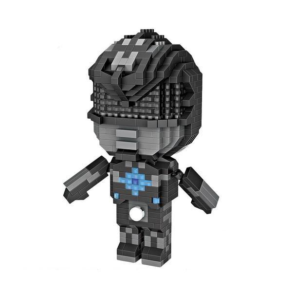 LOZ 9772 Power Ranger Black