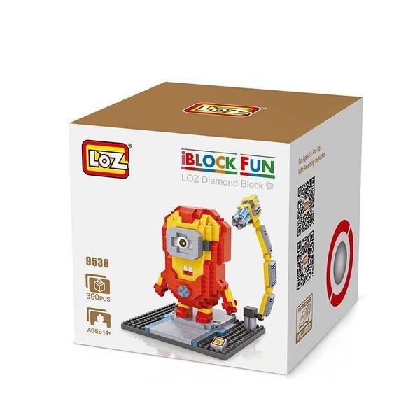 LOZ 9536 Despicable Me Iron Man