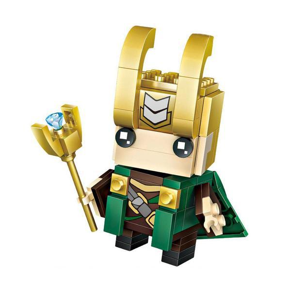 LOZ 1425 Brickheadz Loki