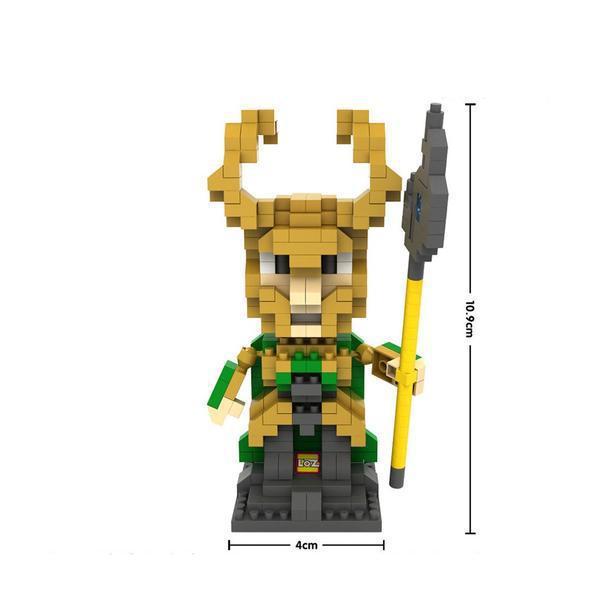 LOZ 9449 Superhero Loki