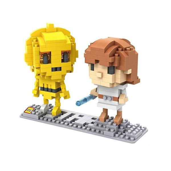 LOZ 9532 CP3O and Luke Skywalker