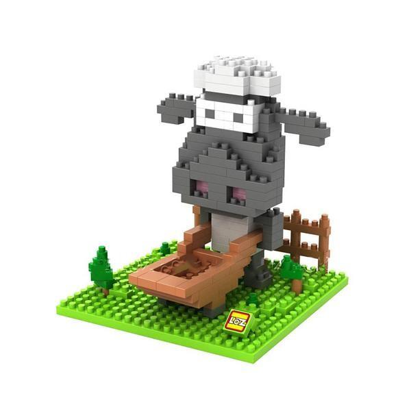 LOZ 9475 Farm Animals Cow